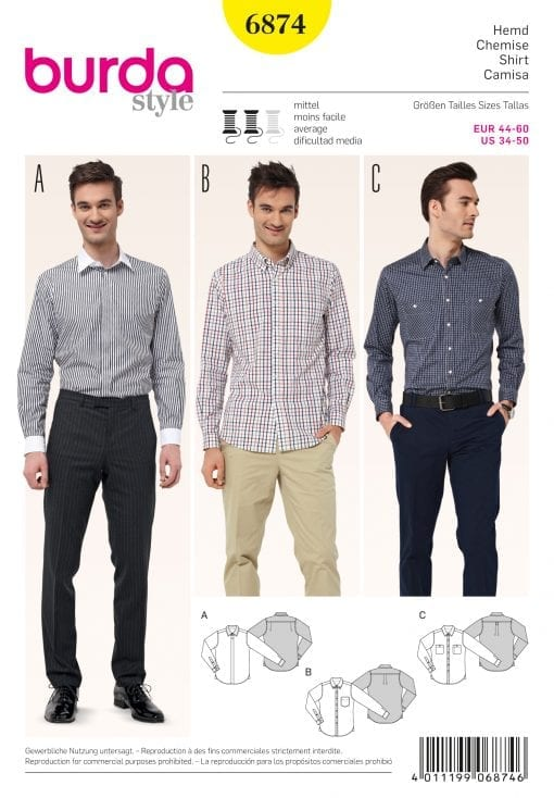 Burda Sewing Pattern 6874