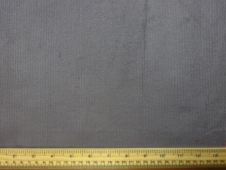 Corduroy Fabric 11 Whale Cord dark grey