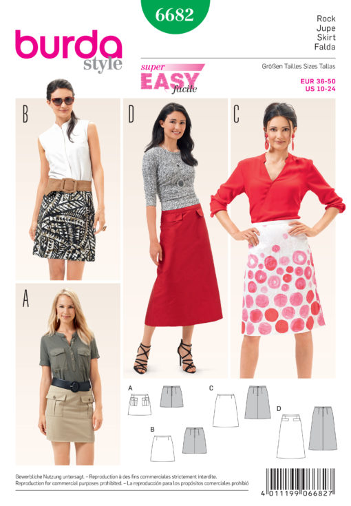 Burda sewing pattern 6682