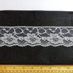 Lace Trimming 211 White