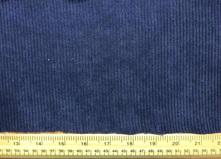 Corduroy Fabric Buttersoft 8 Whale Cord navy