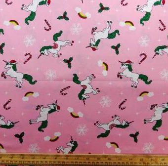 It's A Unicorn Christmas Pink