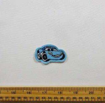 Pale Blue Sports Car