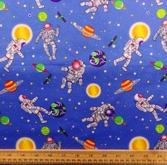 Space Men Blue