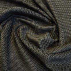 Black Corduroy Fabric Vari Line