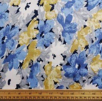Geranium Blooms Blue