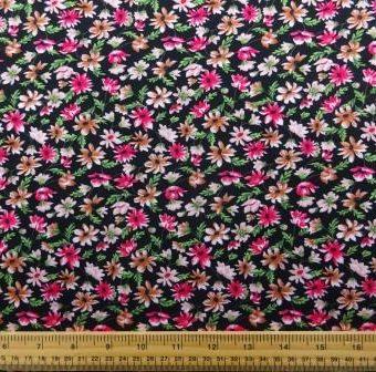 Carpet Of Daisies Black