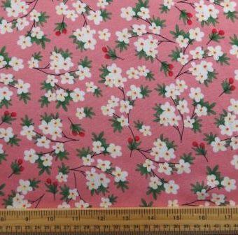 Vanilla Flowers Pink