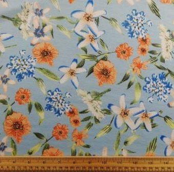 Muddle Flowers Blue