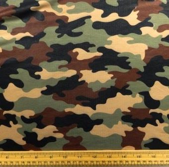 Camouflage Army Manoeuvres Green