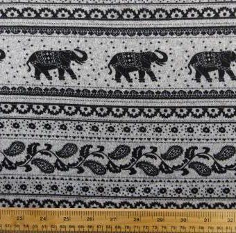 Elephant Festival Parade Grey