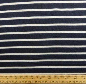 Regular Stripes Navy/Ivory