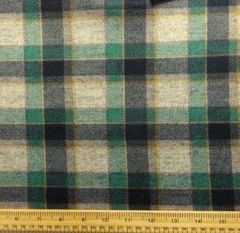 Highlands Check Tartan Beige/Green