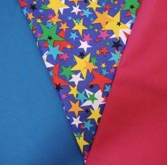 Royal Twister Stars/Turquoise/Cerise