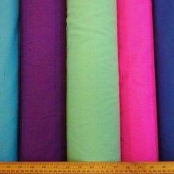 Cotton canvas plain fabric