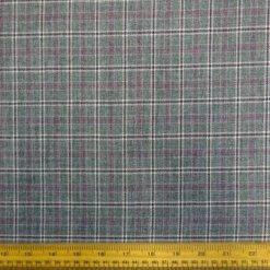 box tweed suiting fabric