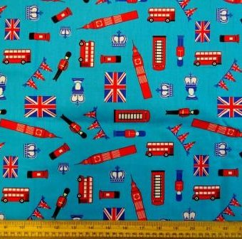 The Great British Jubilee Turquoise