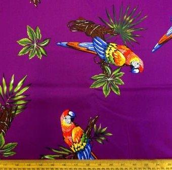 Ping Pong Parrots Purple