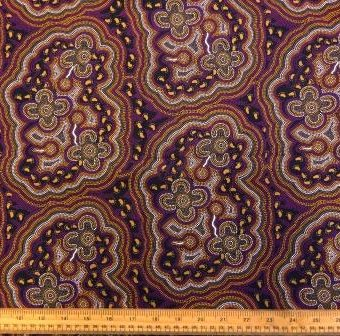 Abstract Aboriginal Art Wine