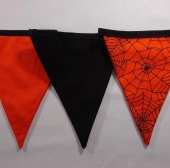 Sinister Spiders Webs Orange/black/orange